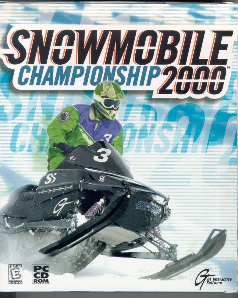 Snowmobile Championship 2000 Windows Front Cover