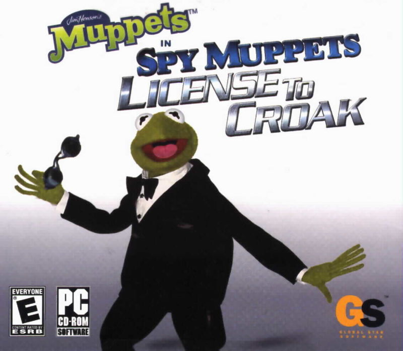 Spy Muppets: License to Croak Windows Front Cover