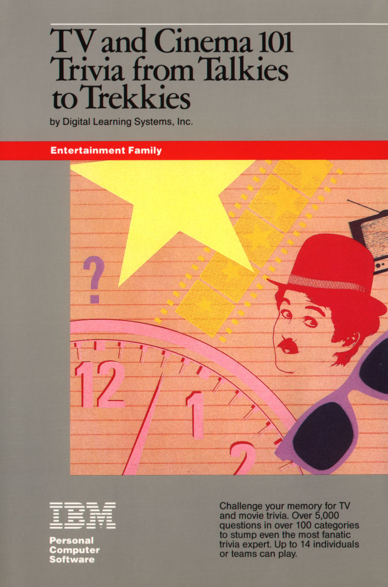 TV and Cinema 101: Trivia from Talkies to Trekkies PC Booter Front Cover
