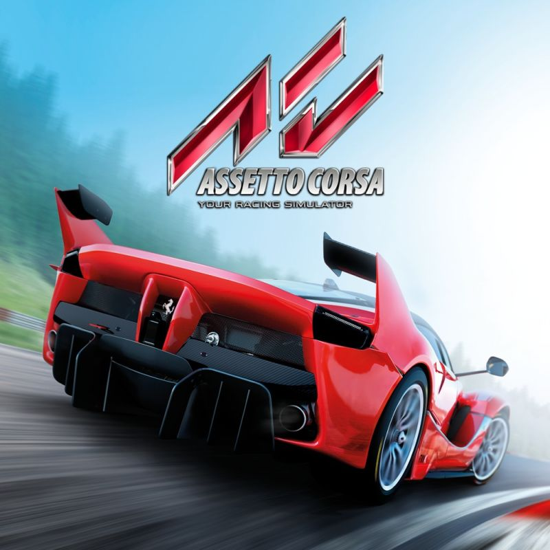assetto corsa 2016 playstation 4 box cover art mobygames. Black Bedroom Furniture Sets. Home Design Ideas