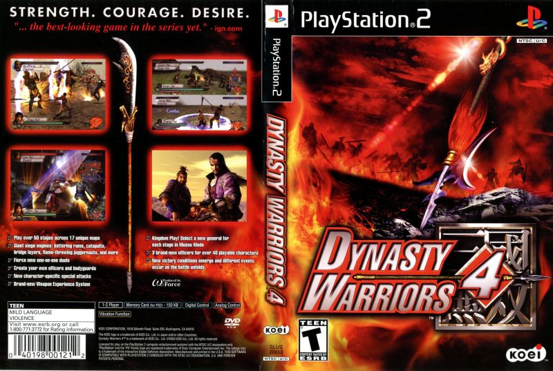 dynasty warriors 4 download
