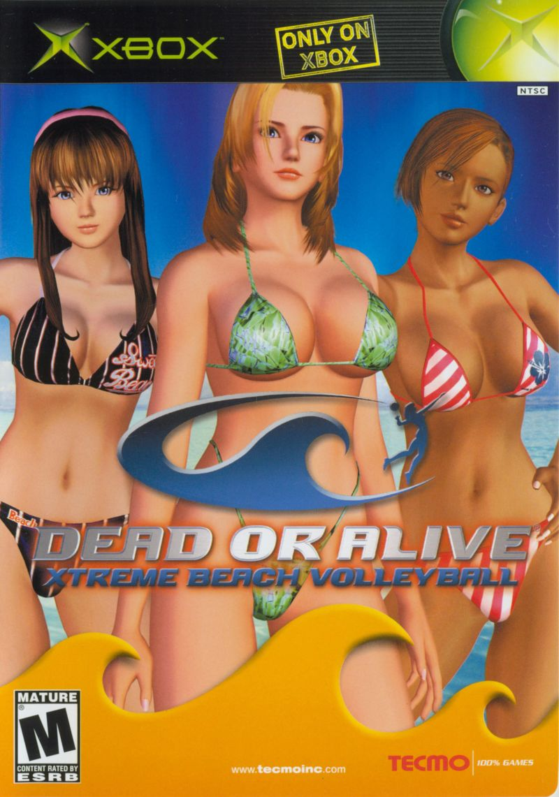 Dead or Alive: Xtreme Beach Volleyball Xbox Front Cover