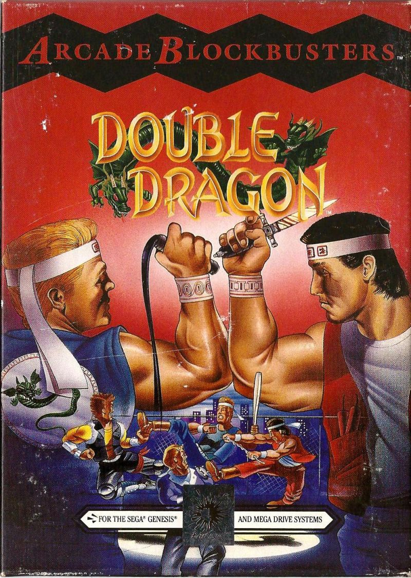 Double Dragon 1993 Genesis Box Cover Art Mobygames