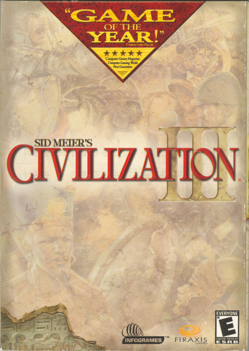 Sid Meier's Civilization III (Game of the Year Edition) Windows Front Cover