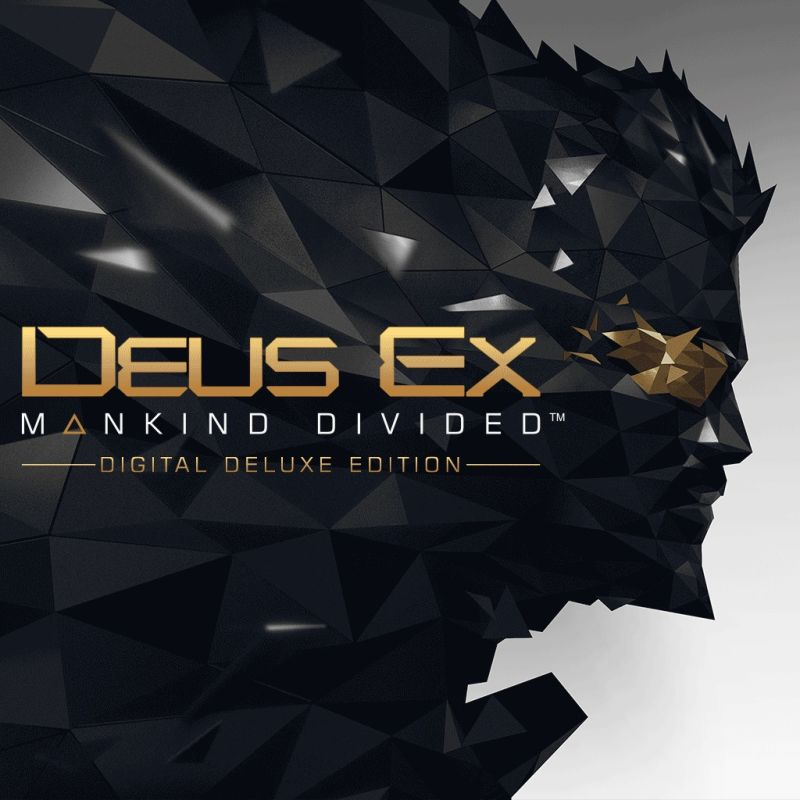 Deus Ex: Mankind Divided (Digital Deluxe Edition) PlayStation 4 Front Cover