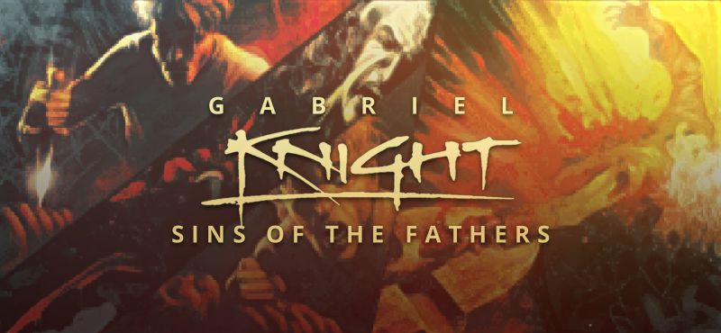 Gabriel Knight: Sins of the Fathers Windows Front Cover Widescreen (2016)