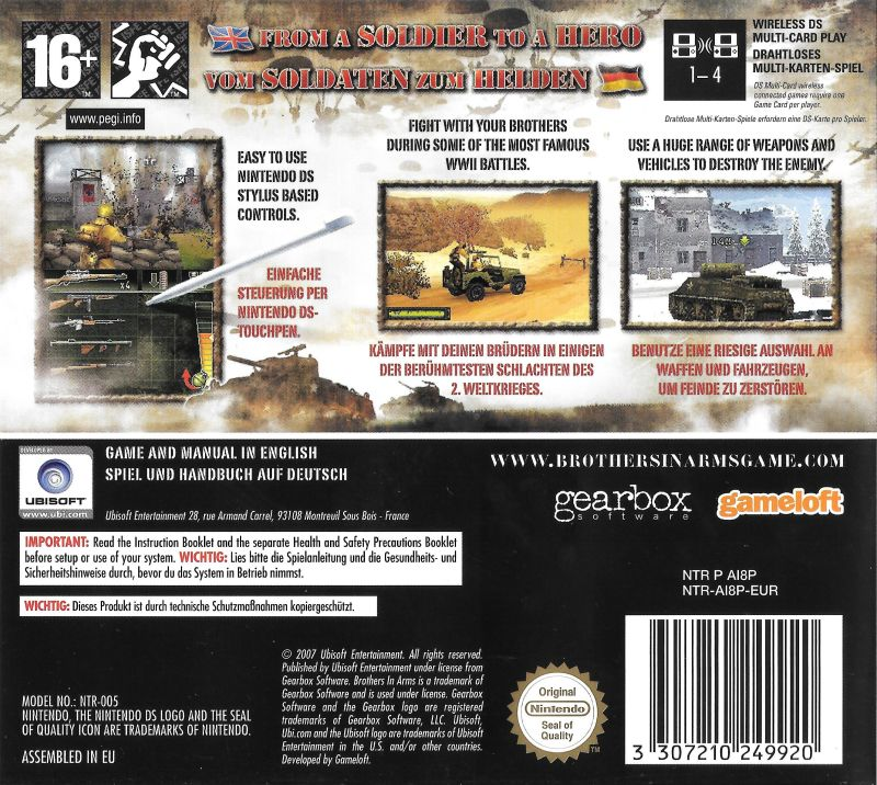 brothers in arms pc