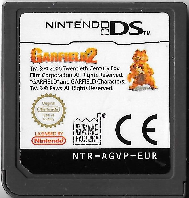 Garfield A Tail Of Two Kitties Ds