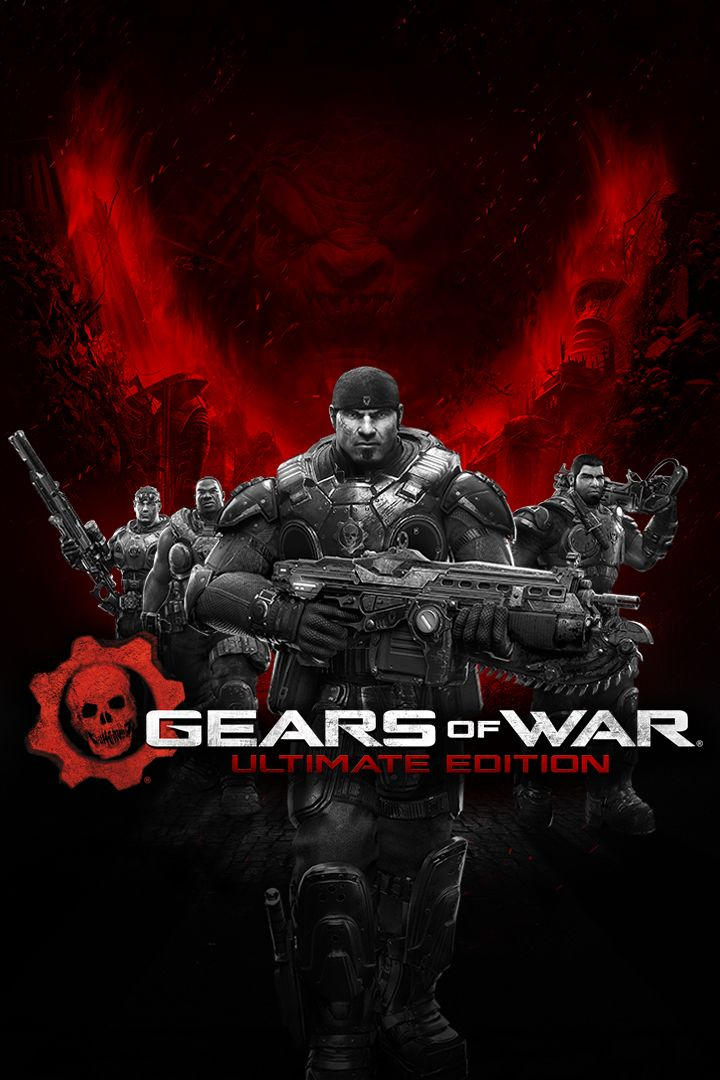 Gears of War: Ultimate Edition Xbox One Front Cover 2nd version