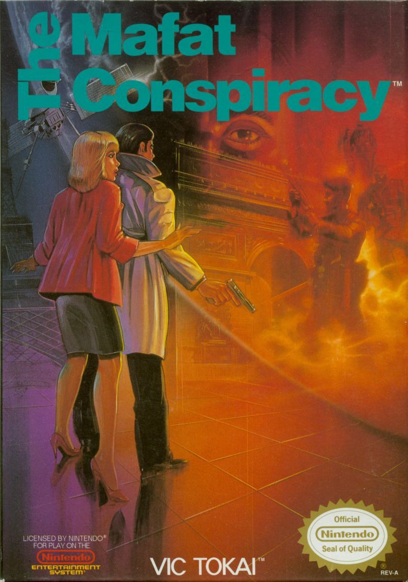 The Mafat Conspiracy NES Front Cover