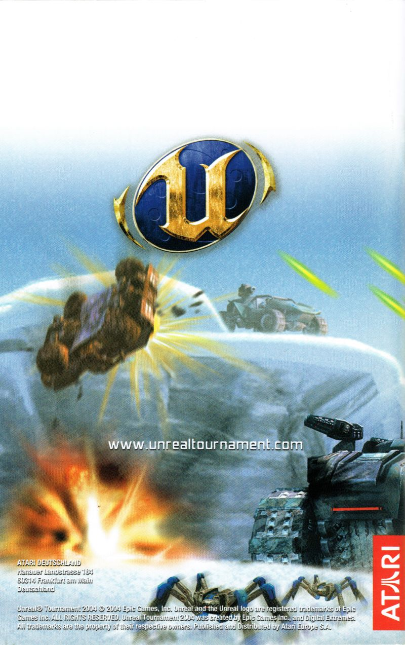 Unreal Tournament 2004 Linux Manual Back