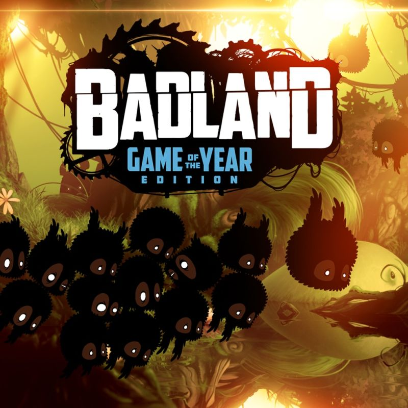 Badland: Game of the Year Edition PlayStation 3 Front Cover