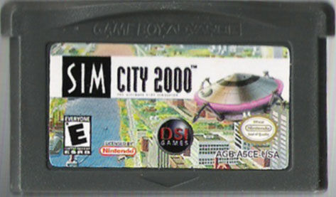 SimCity 2000 Game Boy Advance Media
