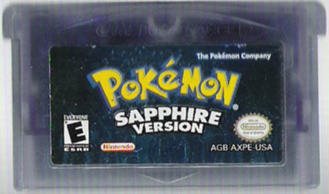 Pokémon Sapphire Version Game Boy Advance Media