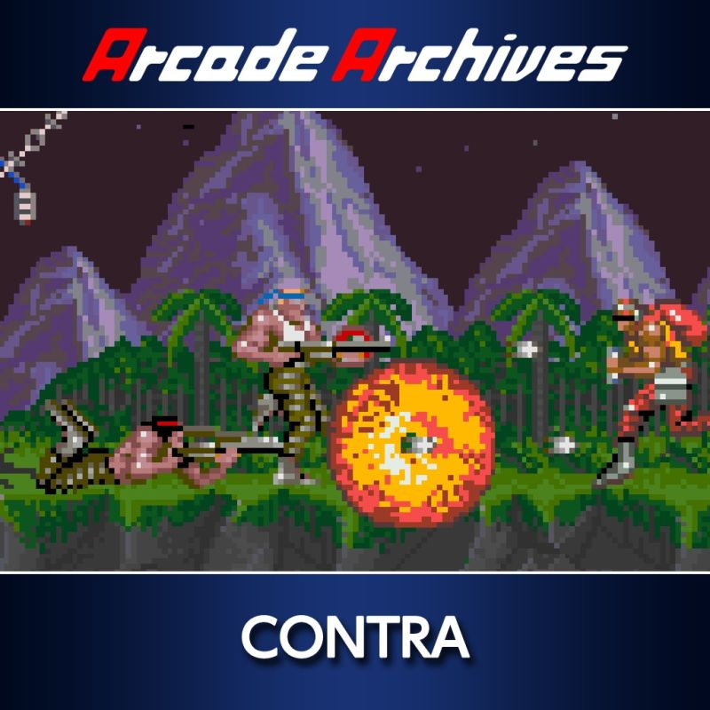 Contra PlayStation 4 Front Cover