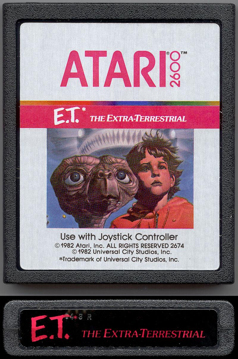 E.T. The Extra-Terrestrial Atari 2600 Media