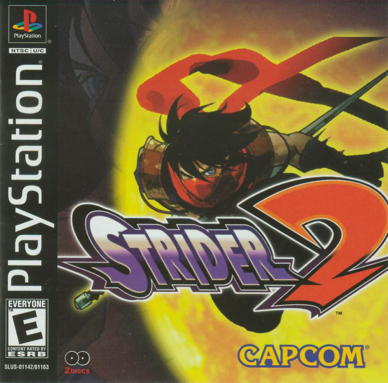 Strider 2 PlayStation Front Cover