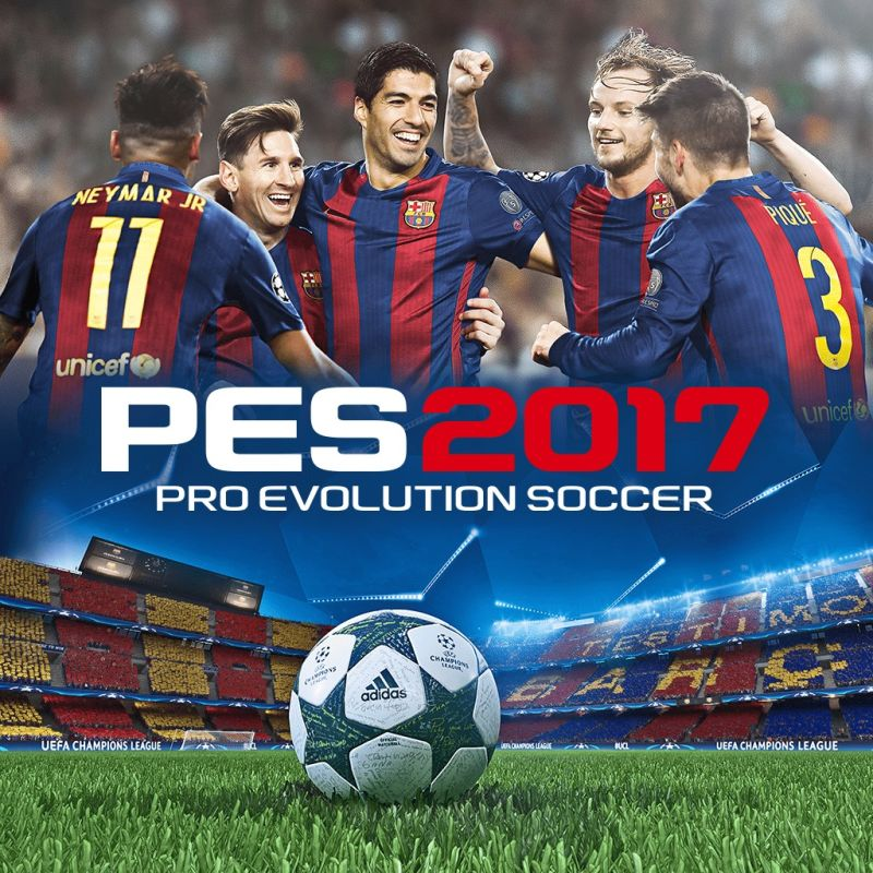 PES 2017: Pro Evolution Soccer (2016) PlayStation 3 box ...