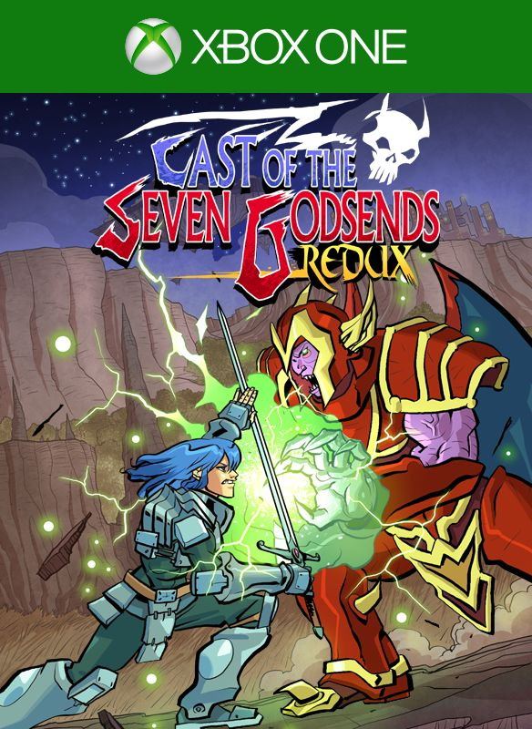 Cast of the Seven Godsends (2016) Xbox One box cover art