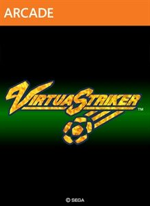 Virtua Striker Xbox 360 Front Cover