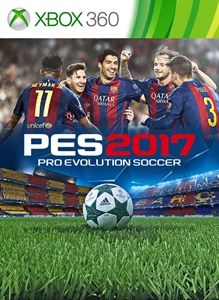 PES 2017: Pro Evolution Soccer Xbox 360 Front Cover