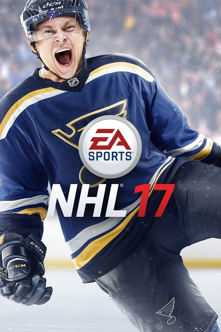 nhl 17 2016 playstation 4 box cover art mobygames. Black Bedroom Furniture Sets. Home Design Ideas
