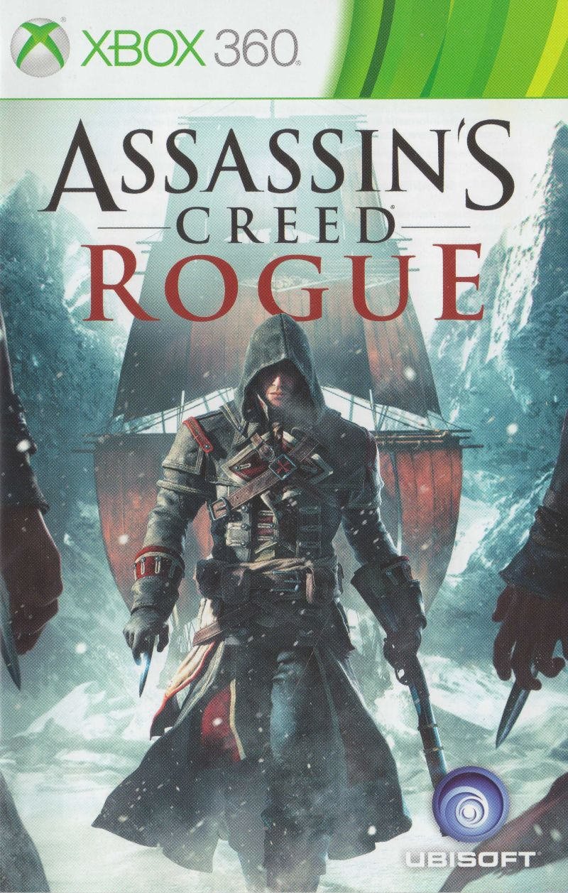 Assassin S Creed Rogue 2014 Xbox 360 Box Cover Art Mobygames