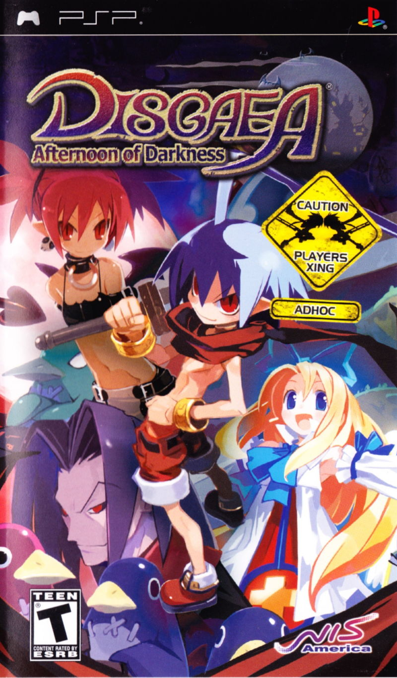 Disgaea: Afternoon of Darkness PSP/Baixar ISO Pt-br