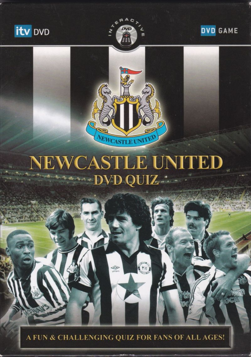 newcastle united dvd quiz for dvd player 2006 mobygames