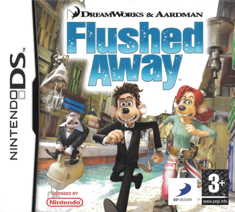 Flushed Away For Nintendo Ds 2006 Mobygames