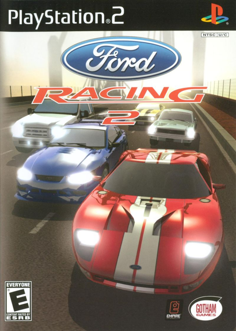 Ford Racing 2 PlayStation 2 Front Cover