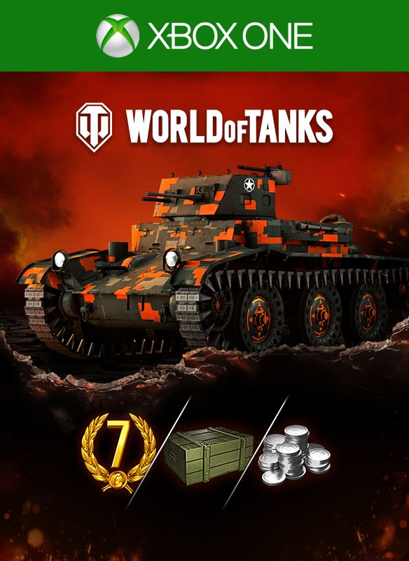 World of Tanks: Starter Kit - Fox Edition for Xbox One