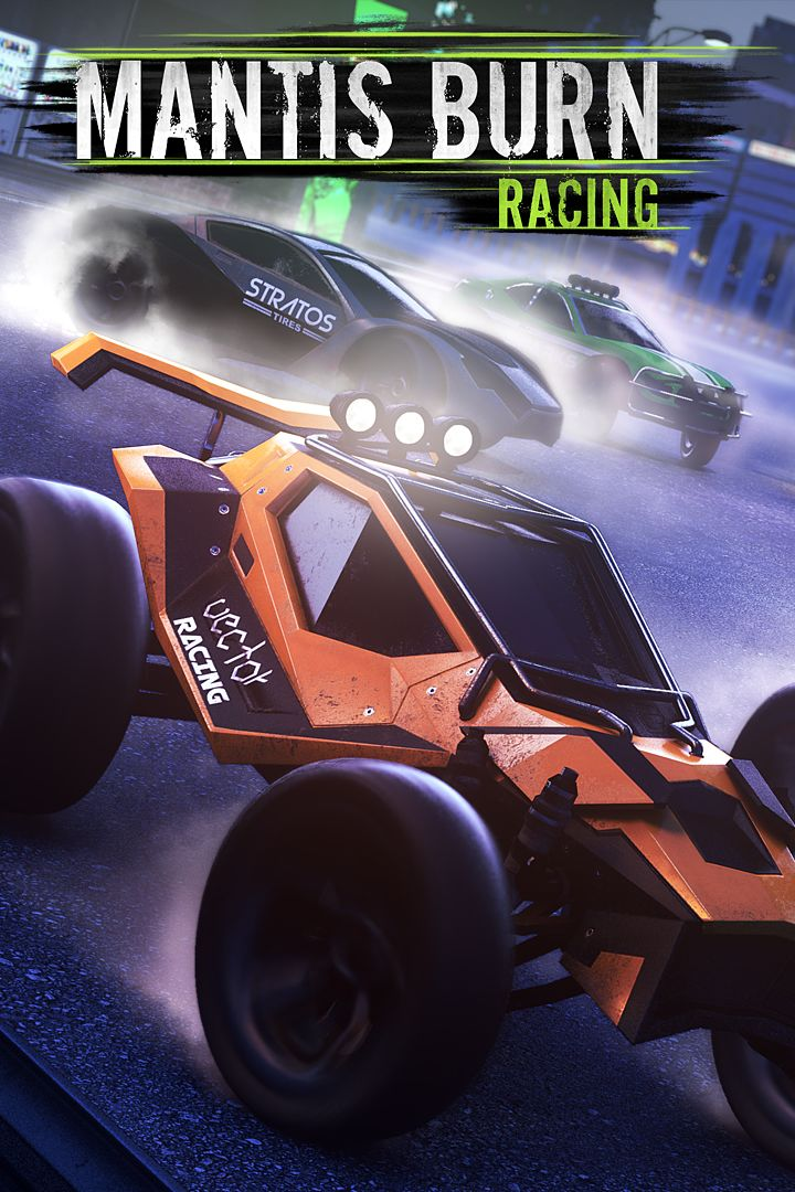 mantis burn racing 2016 xbox one box cover art mobygames. Black Bedroom Furniture Sets. Home Design Ideas