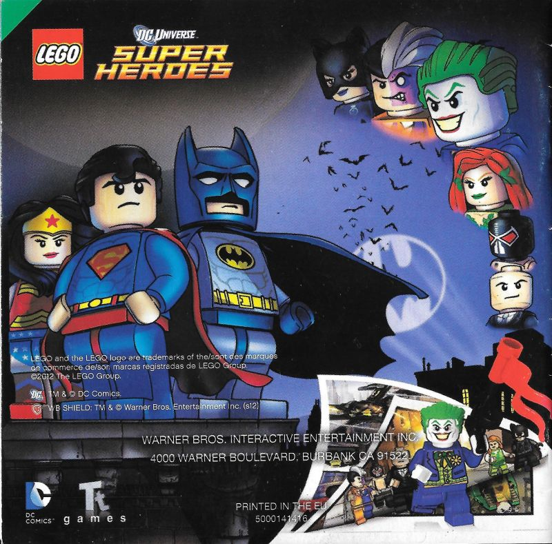 LEGO Batman 2: DC Super Heroes (2016) Android box cover art ...