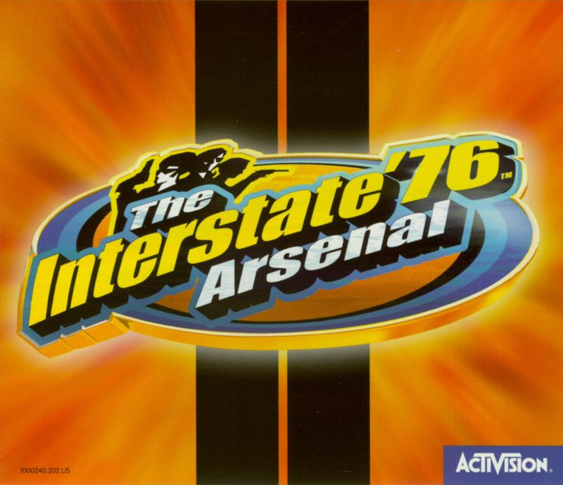 The Interstate '76 Arsenal Windows Other Jewel Case - Front