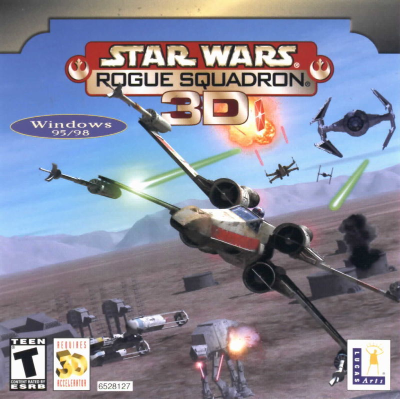Star Wars: Rogue Squadron 3D Windows Front Cover