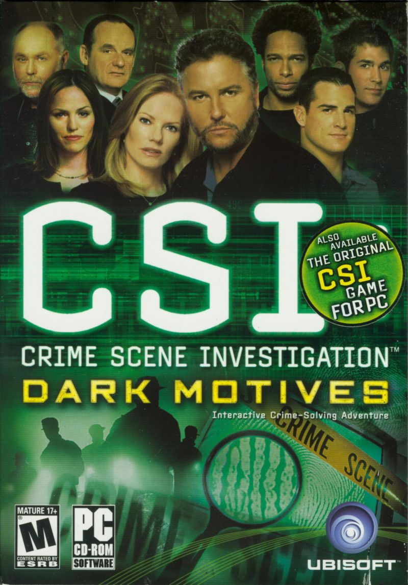 CSI: Crime Scene Investigation - Dark Motives