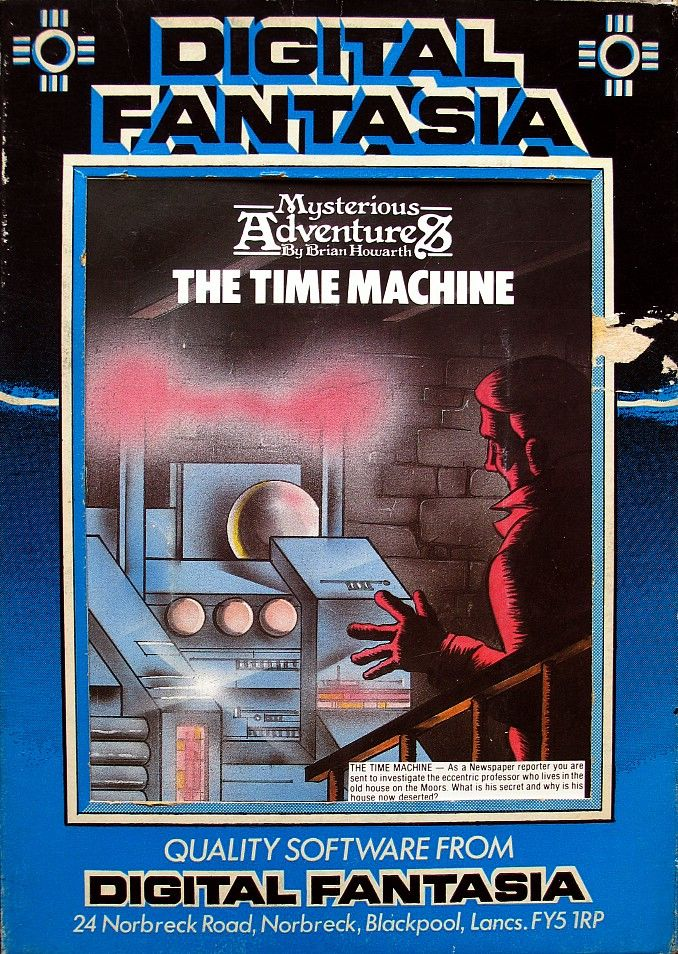 The Time Machine BBC Micro Front Cover