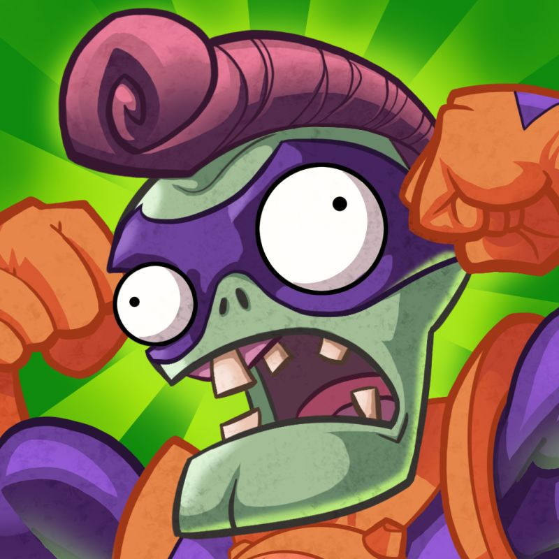 Plants vs. Zombies: Heroes iPad Front Cover