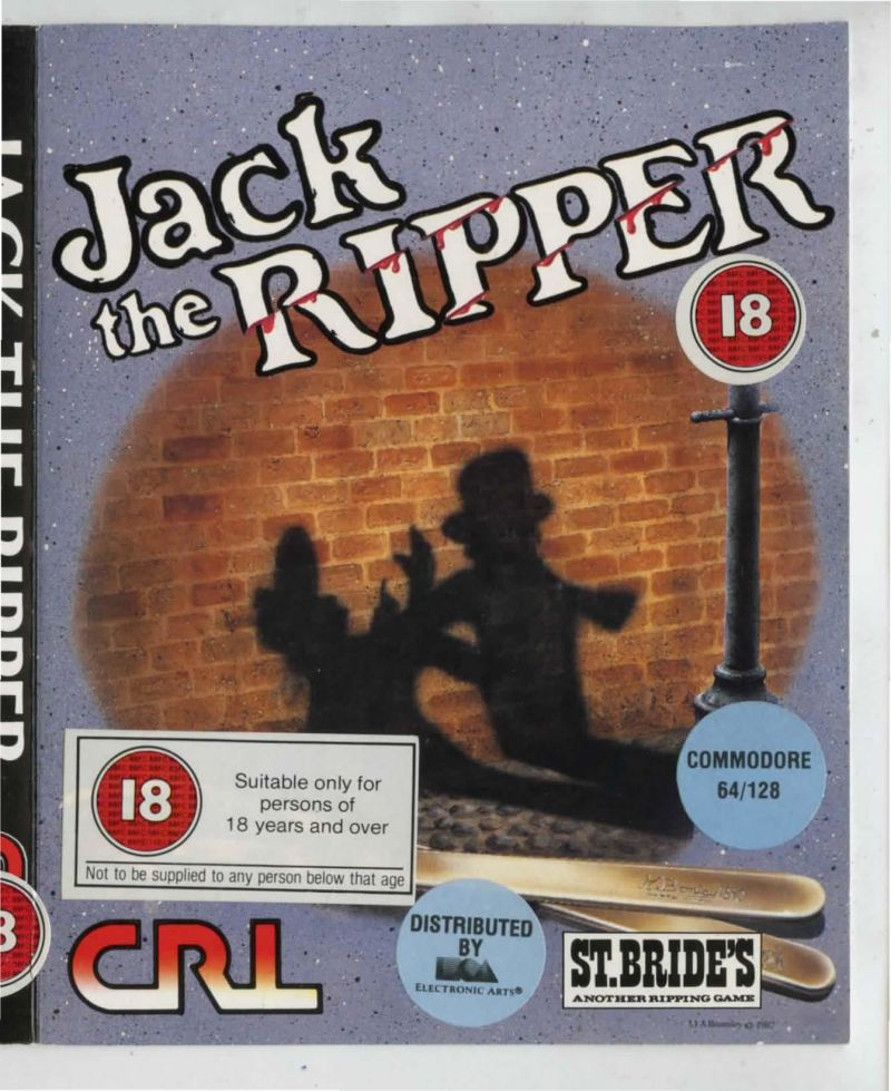 Jack the Ripper for Amstrad CPC (1987) - MobyGames