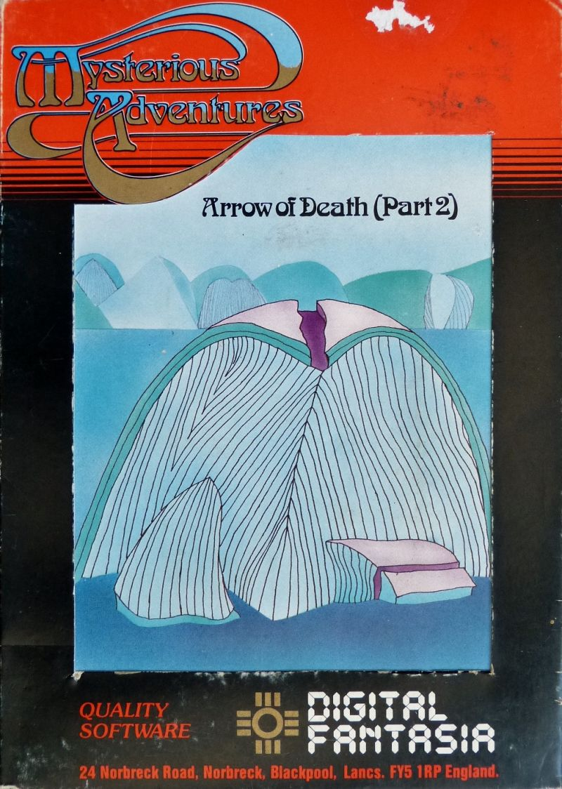Arrow of Death Part II BBC Micro Front Cover