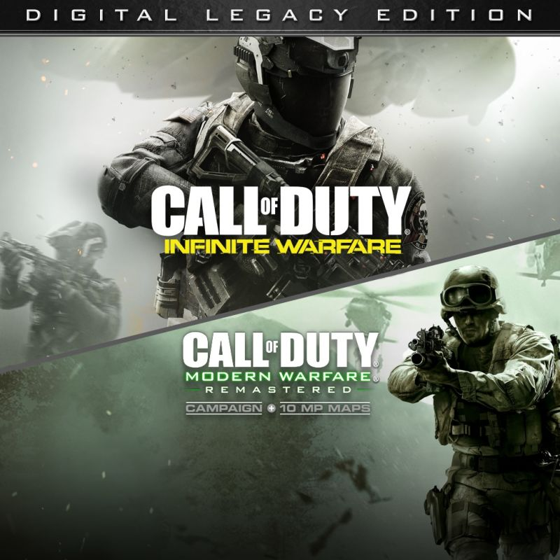 Call of Duty: Infinite Warfare (Legacy Edition) PlayStation 4 Front Cover