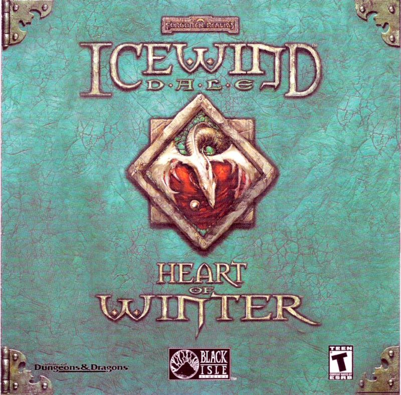 Icewind Dale: Heart of Winter Windows Other Jewel Case - Front