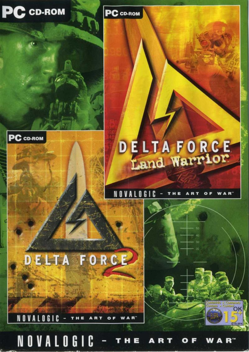 Delta Force 2 / Delta Force Land Warrior Windows Front Cover