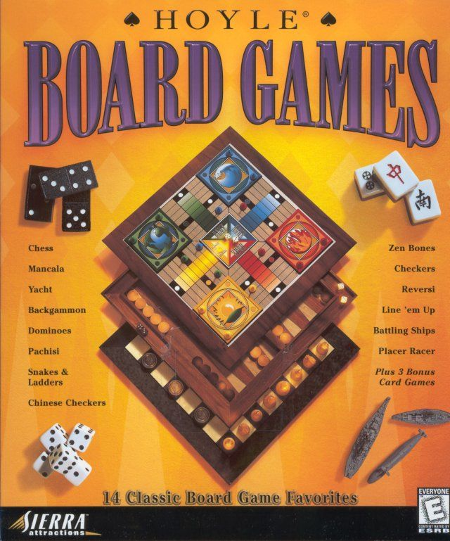 Hoyle Board Games Windows Front Cover