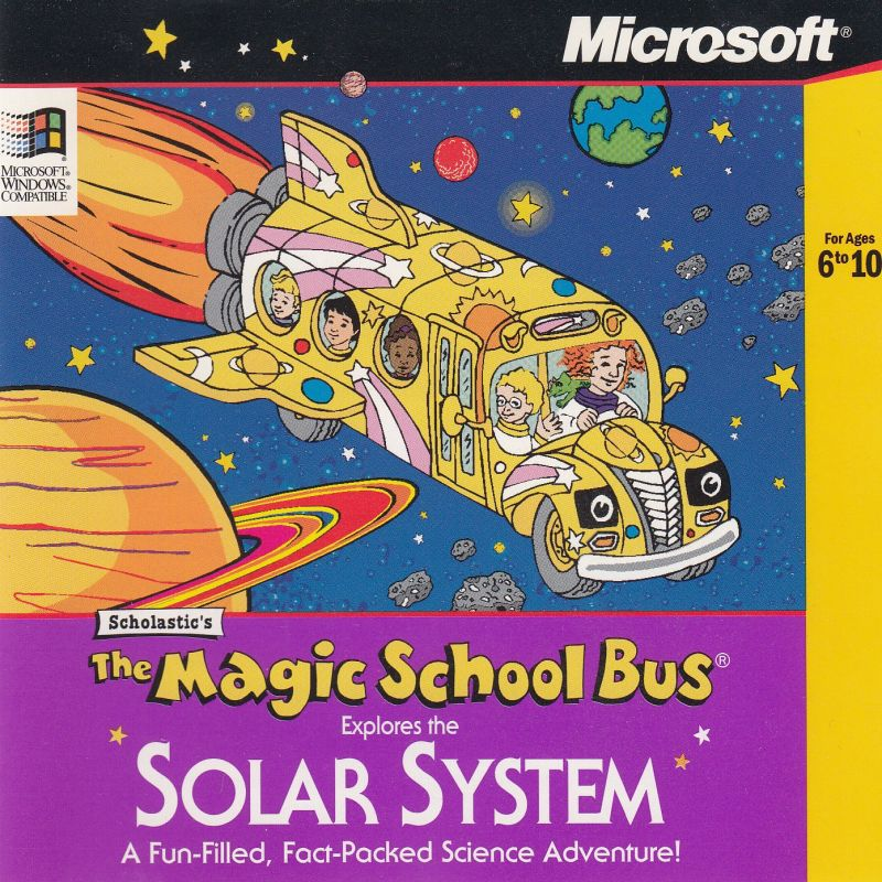 Scholastic S The Magic School Bus Explores The Solar