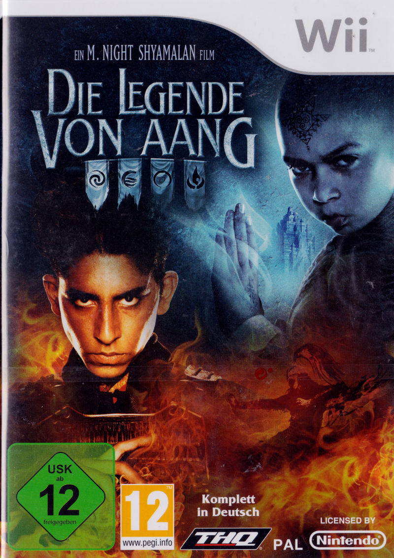 The Last Airbender For Wii 2010 Mobygames