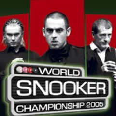 World Snooker Championship 2005 PlayStation 3 Front Cover