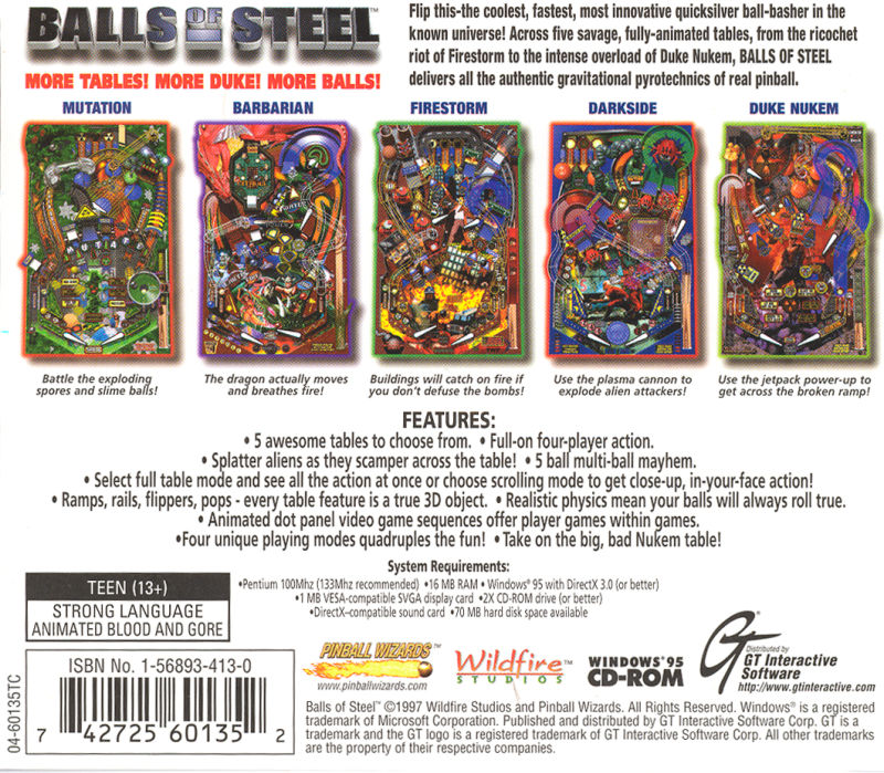 Balls of Steel Windows Other Jewel Case - Back Cover
