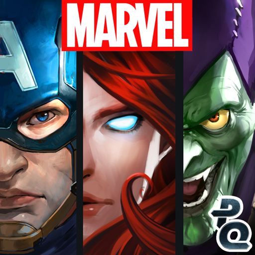 Marvel Puzzle Quest Android Front Cover R115 release